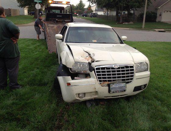 vb car hits house damascus trail4 howard the homeowner e1407335460756
