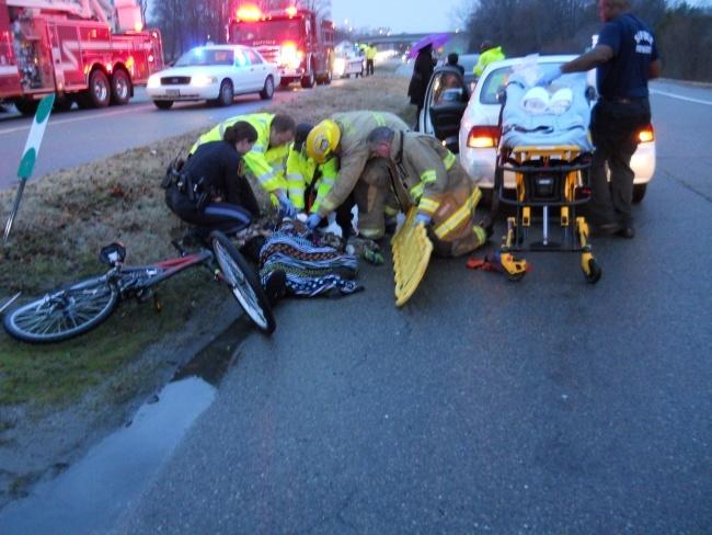 bicyclist injured in suffolk11